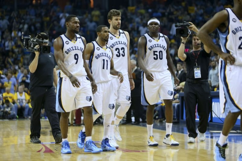 The Grizzlies' core four that embodied Grit N Grind basketball in Memphis