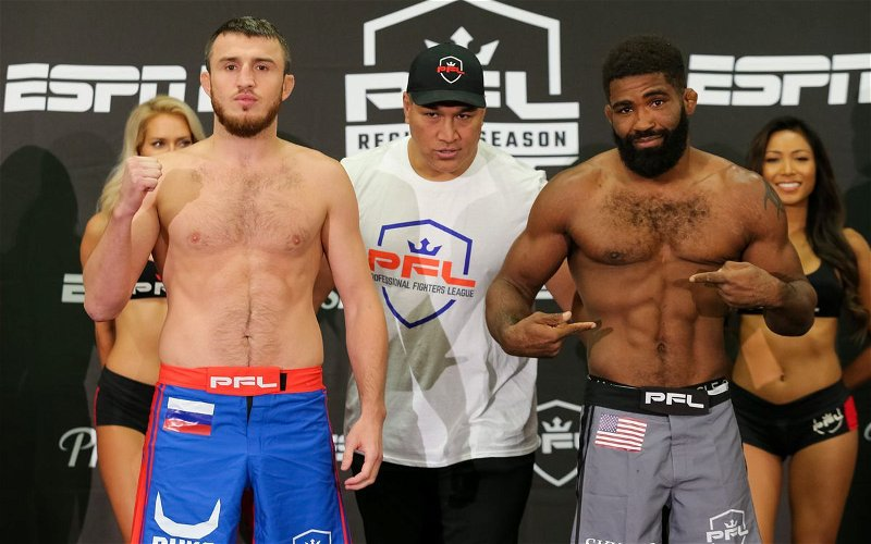 Image for PFL 4 Results and Event Info!