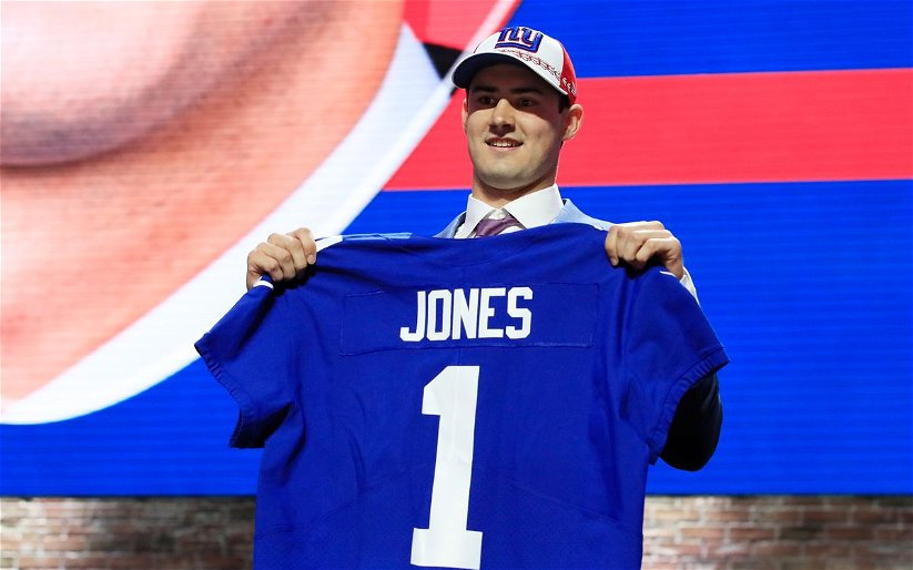 Image for Daniel Jones heats up the QB competition in New York