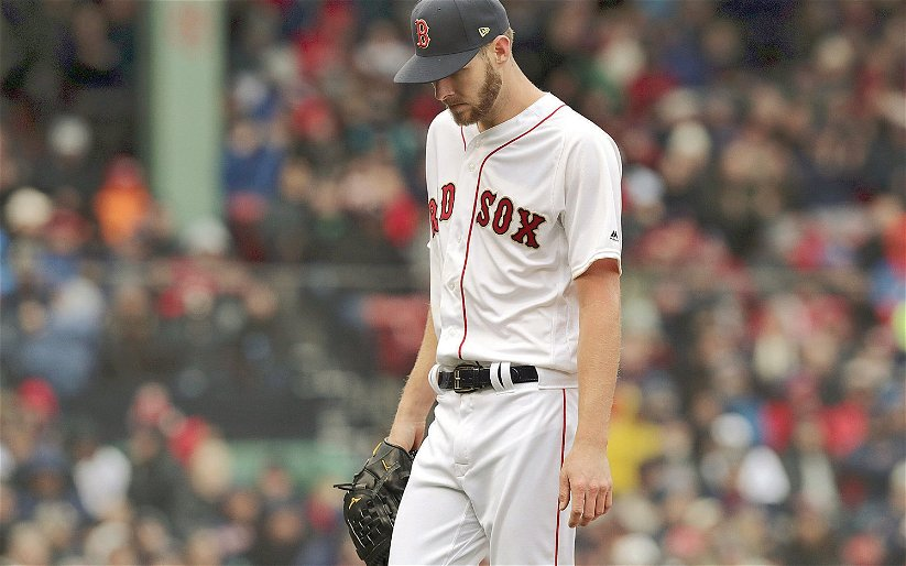 Image for Red Sox Ace Chris Sale Sent to the IL