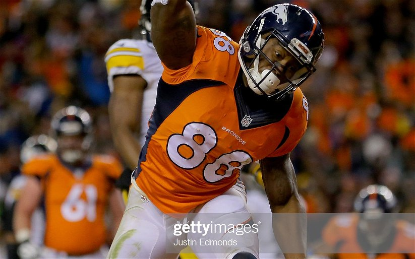 Image for Why Demaryius Thomas Won't Be A Patriot