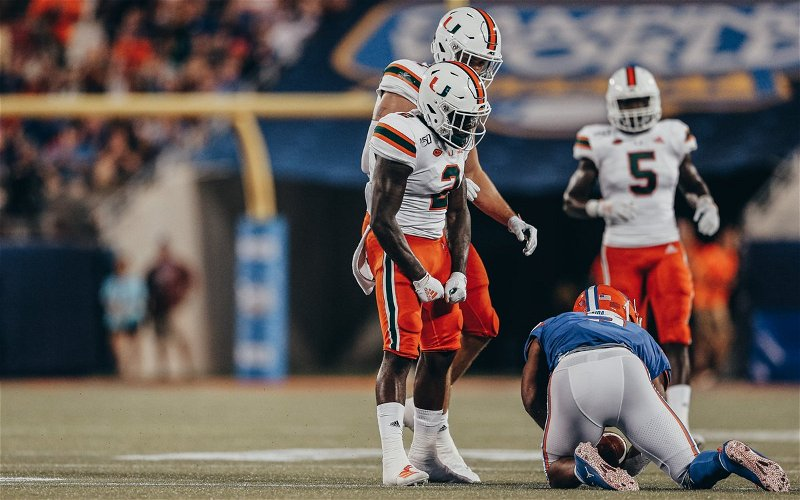 Image for What could have been? Miami takes the L against UF