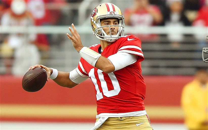Image for NFL: Are We Jumping the Gun on Jimmy Garoppolo?