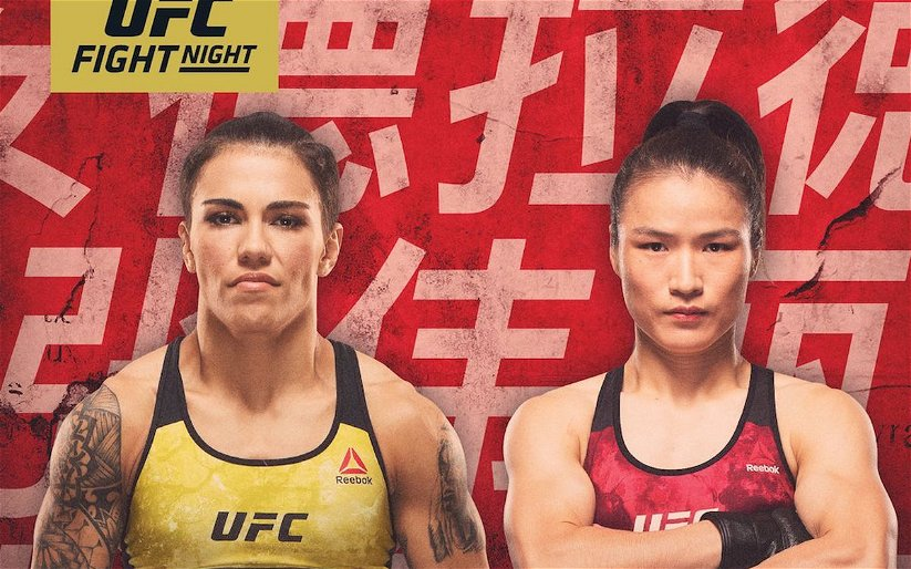 Image for Breaking News: Weili Zhang Defeats Jessica Andrade