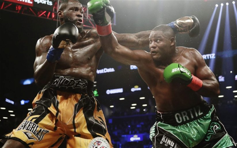 Image for Wilder – Ortiz: The First Fight