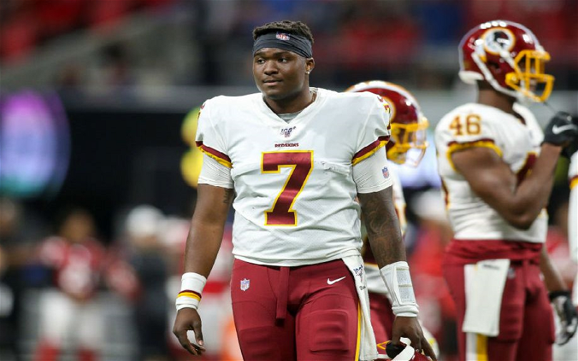Image for Dwayne Haskins: The Future Is Now