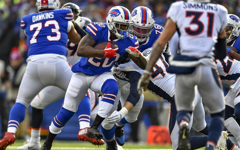 Image for Gore Makes History as Buffalo Bills Dominate Broncos 20-3