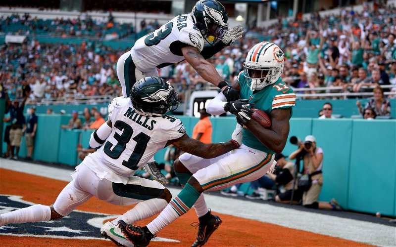 Image for Dolphins Upset Eagles, 37-31