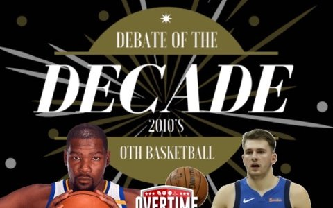 Image for Kevin Durant vs. Luka Doncic: Player of the Decade