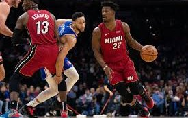 Image for Heat Hand 76ers First Home Loss