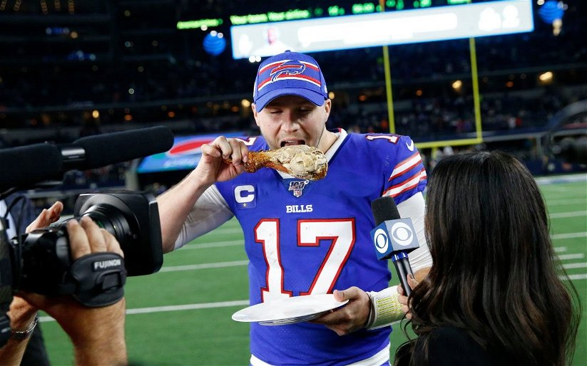 Image for Buffalo Bills with Statement Win on Thanksgiving in Dallas
