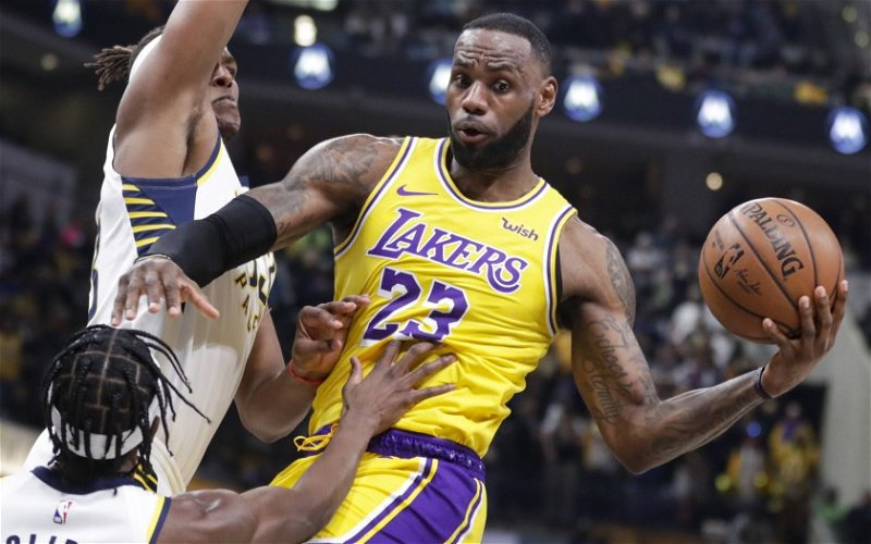 Image for Lakers Fall to Balanced Pacers Team 105-102
