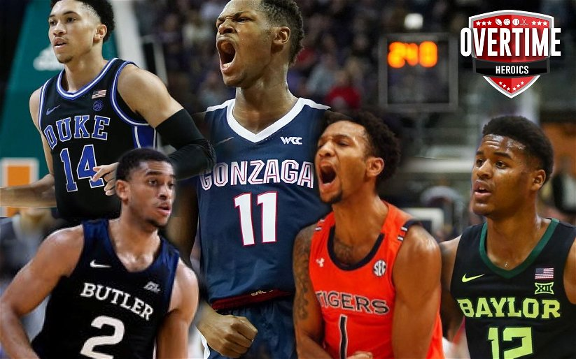 Image for OTH College Basketball Rankings – Week 10