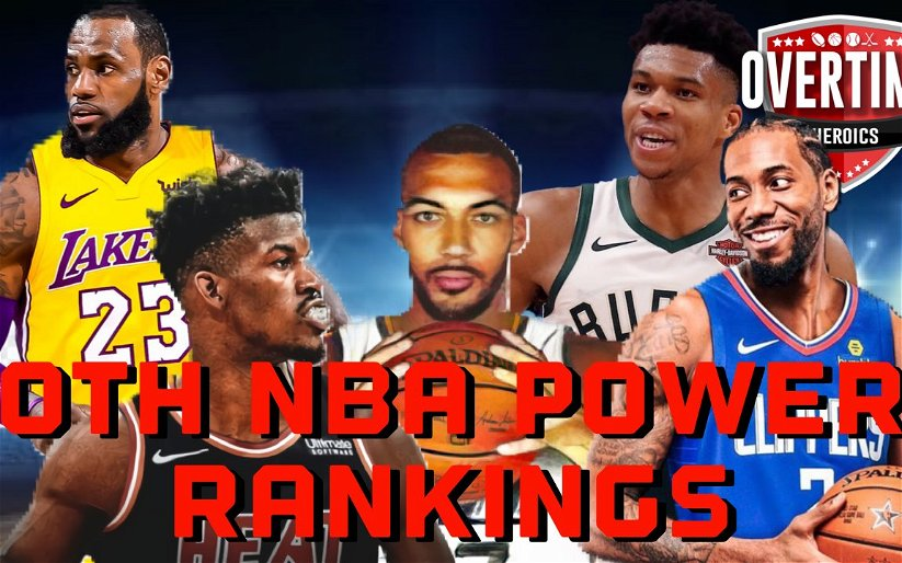 Image for NBA Power Rankings As Of January 15th