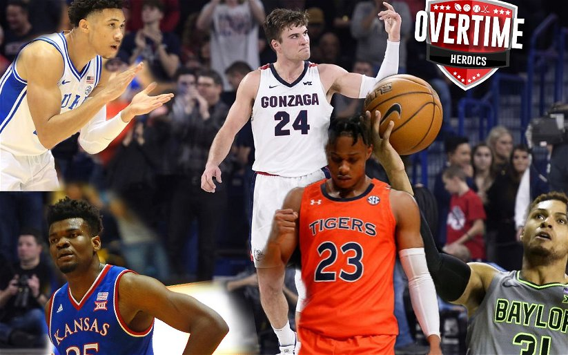 Image for OTH College Basketball Rankings – Week 9
