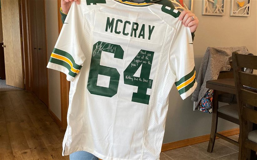 Image for OTH NFL FANS – Maggie Loney – Die Hard Packers fan