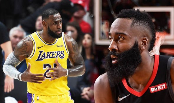 NBA James Harden LeBron James 1033988