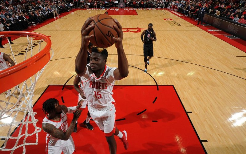 Image for Breaking News: Rockets Capela Part of Four Team Trade