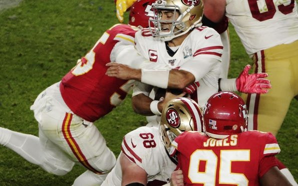 Image for 49ers Fall in Super Bowl to Mahomes, Chiefs