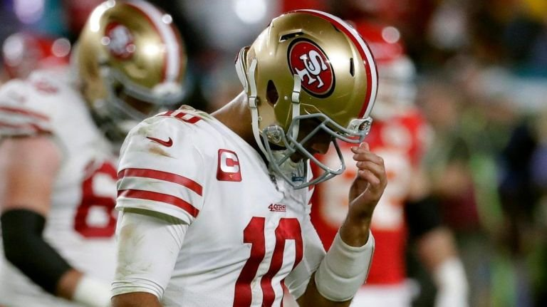 Jimmy G lacked quarterback leadership in the Super Bowl.