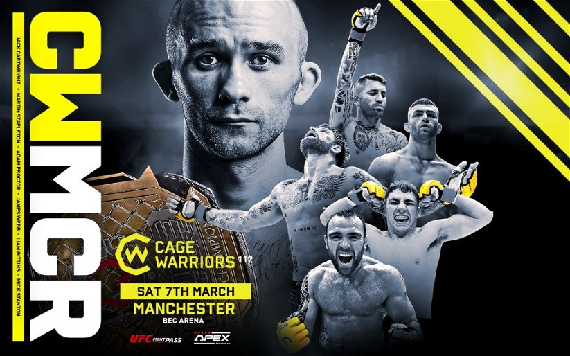 Image for Cage Warriors 112 – Main Card Preview