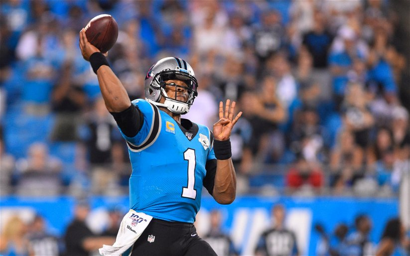 Image for Breaking: Cam Newton Released by Panthers
