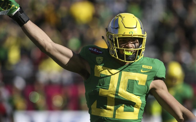 Image for 2020 NFL Draft: Oregon LB Troy Dye Scouting Report