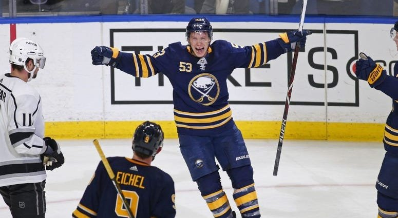 Jeff Skinner used to score a lot of goals...See?!