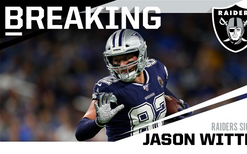 Image for Jason Witten Signs with the Las Vegas Raiders