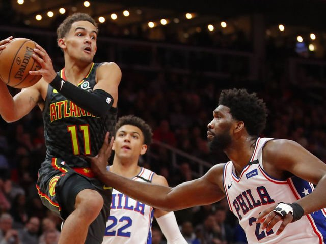 NBA Top 100: Trae Young and Joel Embiid