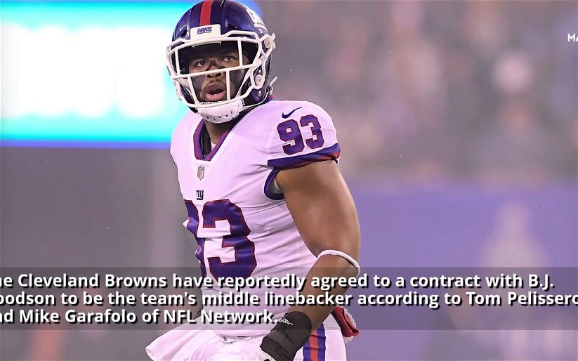Image for Browns Finally Sign A Linebacker in BJ Goodson