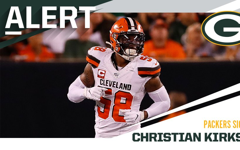 Image for Christian Kirksey to Packers Two Years $16 Million