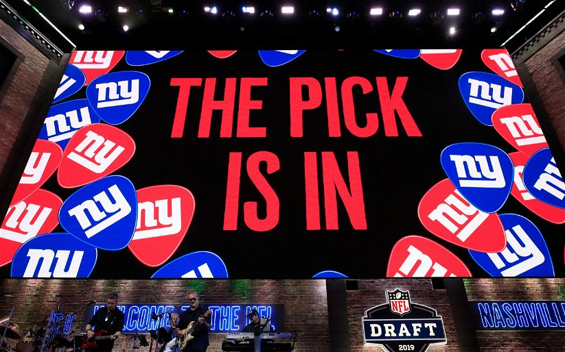 Image for What Should the Giants Do with Their 1st Round Pick?