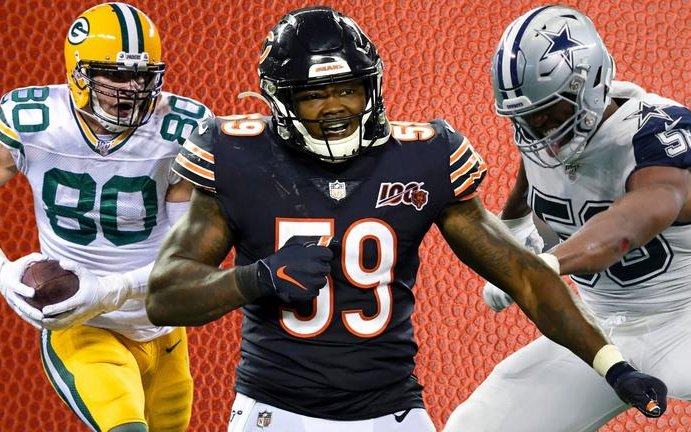 Image for Grading the Chicago Bears' Free Agency Moves