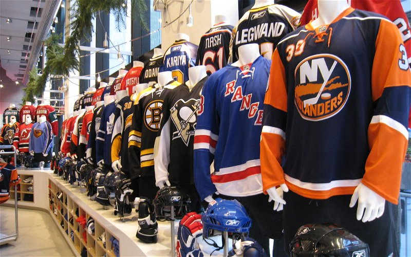 Image for Top 10 Jerseys In NHL History