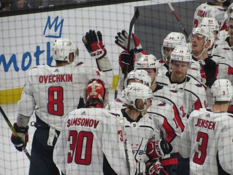The Capitals sweep the Blue Jackets and celebrate in style.