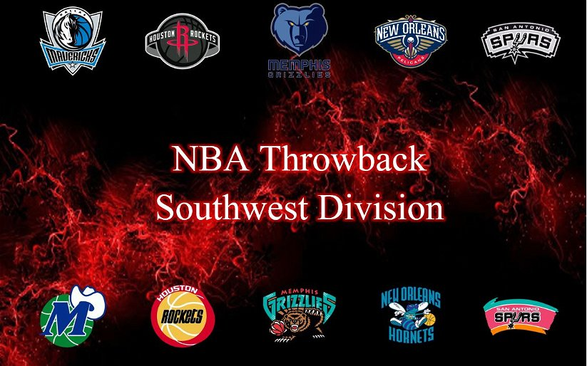 Image for NBA Throwback: Southwest Division
