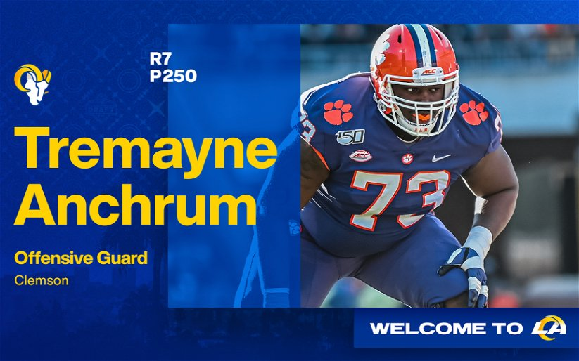 Image for Q-and-A with Rams Draft Pick Tremayne Anchrum