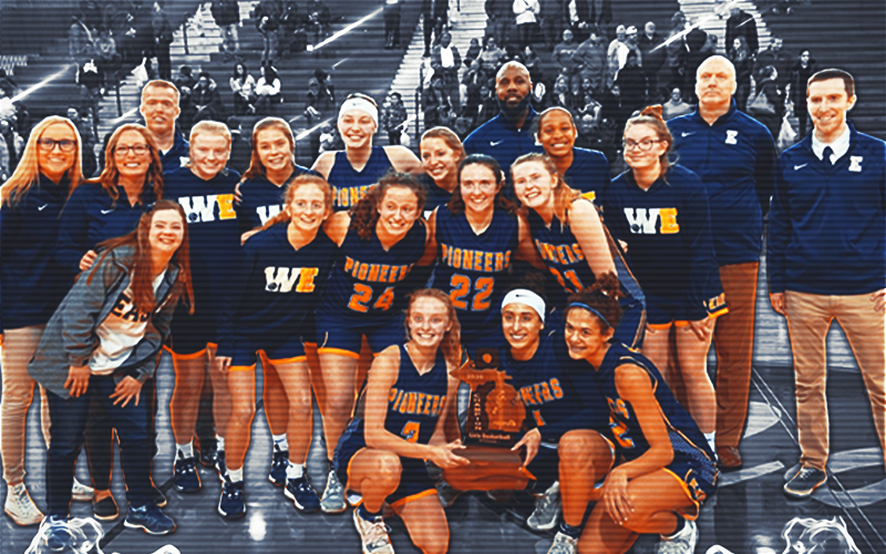 Image for East Grand Rapids: Womens Basketball Team