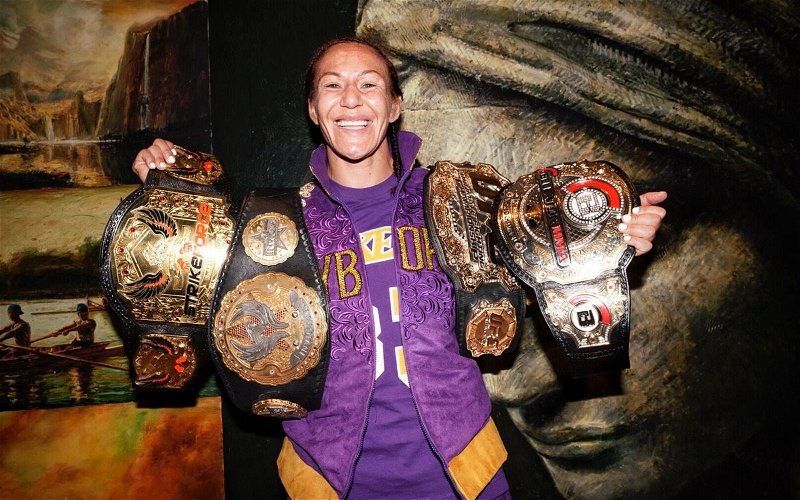 Image for Interview with Cris Cyborg Justino