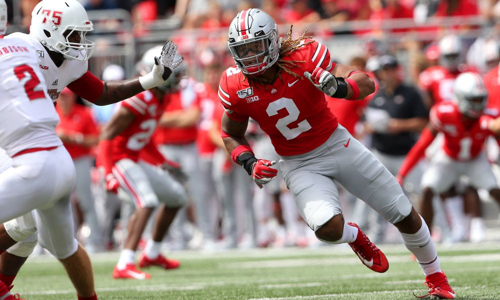 Chase Young is one of the top athletes going into the 2020 NFL Draft