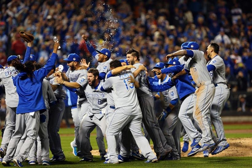 Royals winning world series