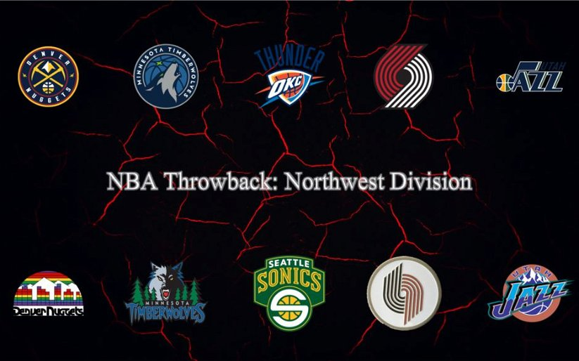 Image for NBA Throwback Northwest Division