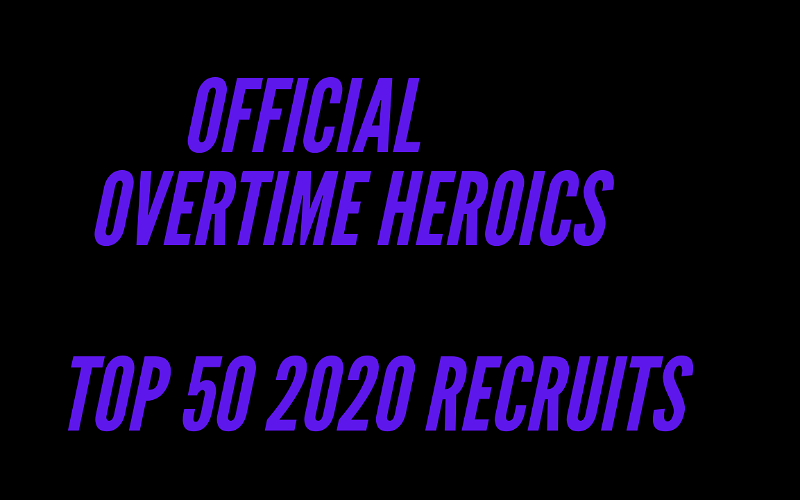 Image for Official 2020 OTH Top 50 Recruits