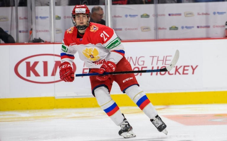 Image for 2020 NHL Draft: Top Russian Forwards