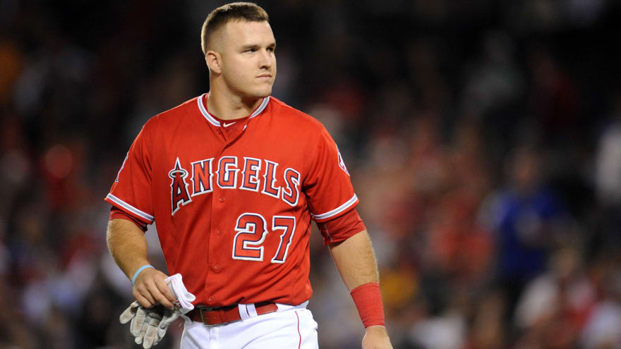 mike trout without playoff success
