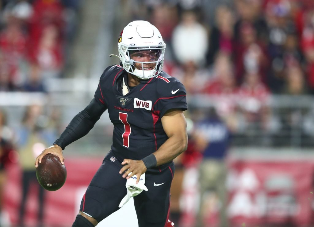 Kyler Murray is an NFL breakout candidate in 2020, Photo: Mark J. Rebilas-USA TODAY Sports