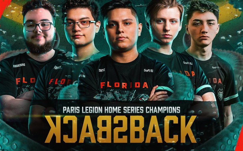 Image for Florida Goes Back to Back and Takes CDL Paris