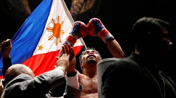 pacquiao victorious