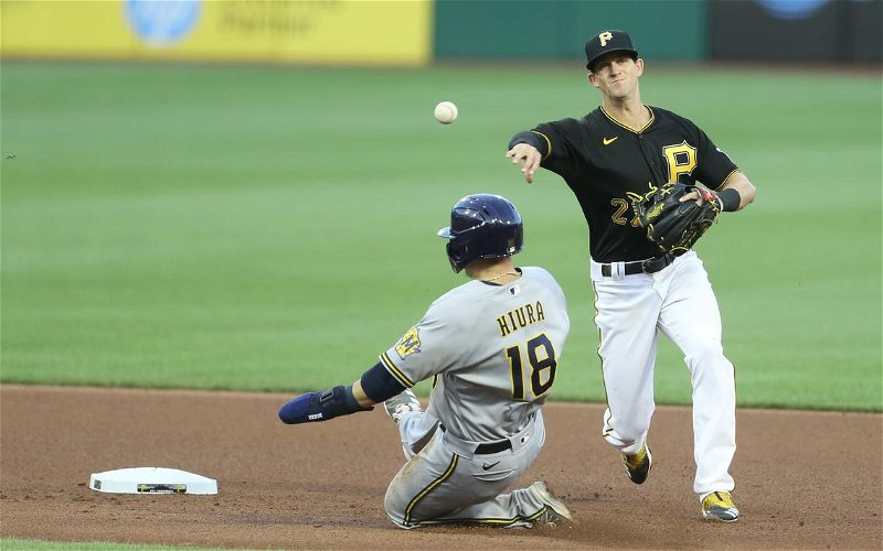Image for The Pirates Get Shut Out By Brewers' Pitching Staff